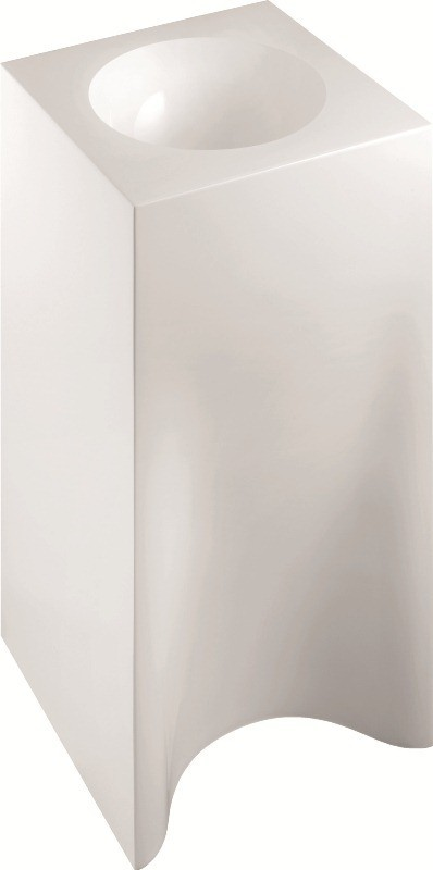 Marmorin Rea 40 umywalka stojąca bez otworu biała 211040020010