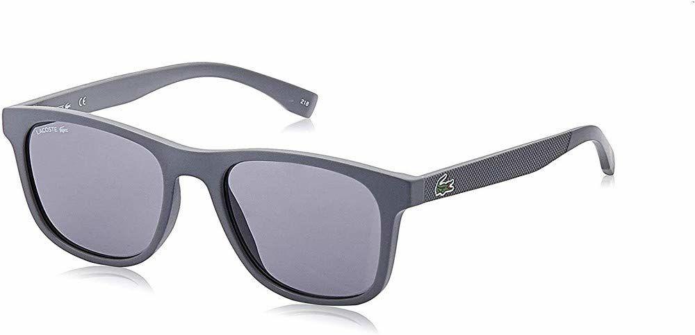 Lacoste L884S Injected okulary przeciwsłoneczne matowe szare uniseks dla dorosłych, wielokolorowe, standardowe