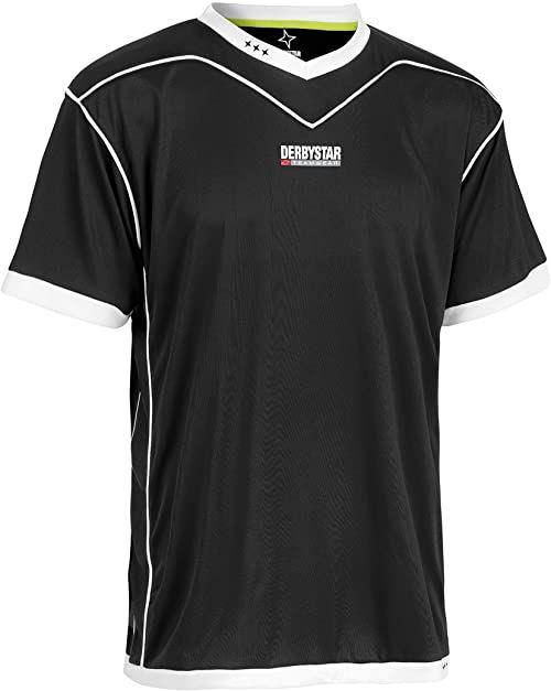 Derbystar Koszulka Brillant krótka, XXXL, czarno-czarna, 6000080220