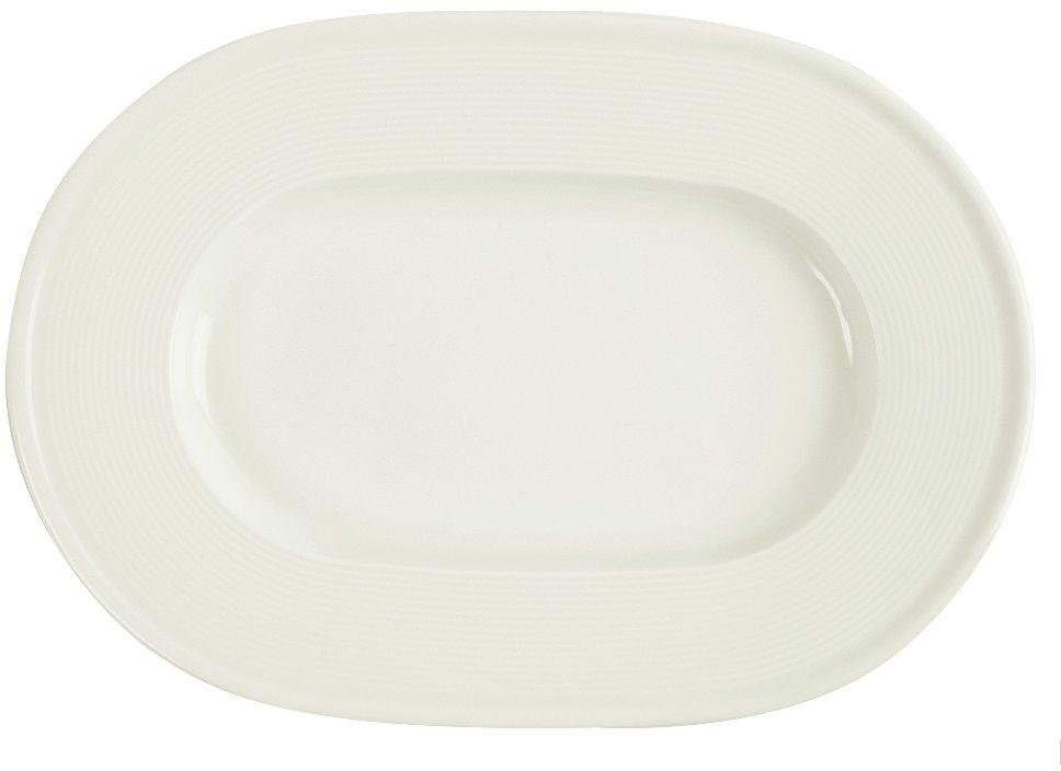 Półmisek porcelanowy owalny śr. 28 cm Line