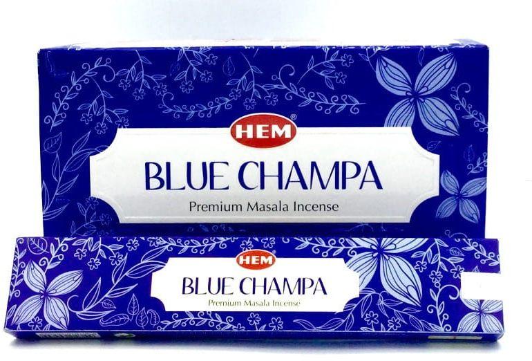 Kadzidełka Blue Champa Pyłkowe HEM 12x15g