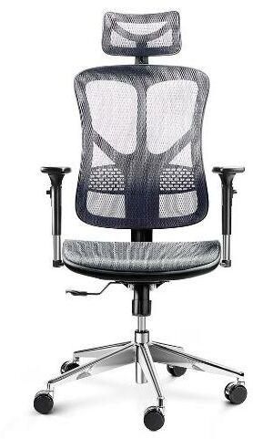 Diablo Chairs V-Basic (czarno-szary) - Kup na Raty - RRSO 0%