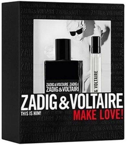 Zadig & Voltaire This is Him! zestaw upominkowy IV. dla mężczyzn