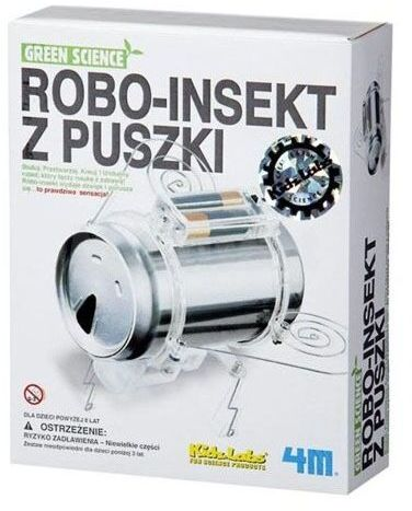 Robo-insekt z puszki (do montażu)