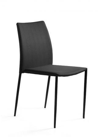 Krzesło DESIGN czarne tkanina  Kupuj w Sprawdzonych sklepach