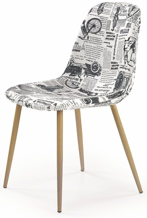Alternatywne krzesło Skoner - wielobarwne