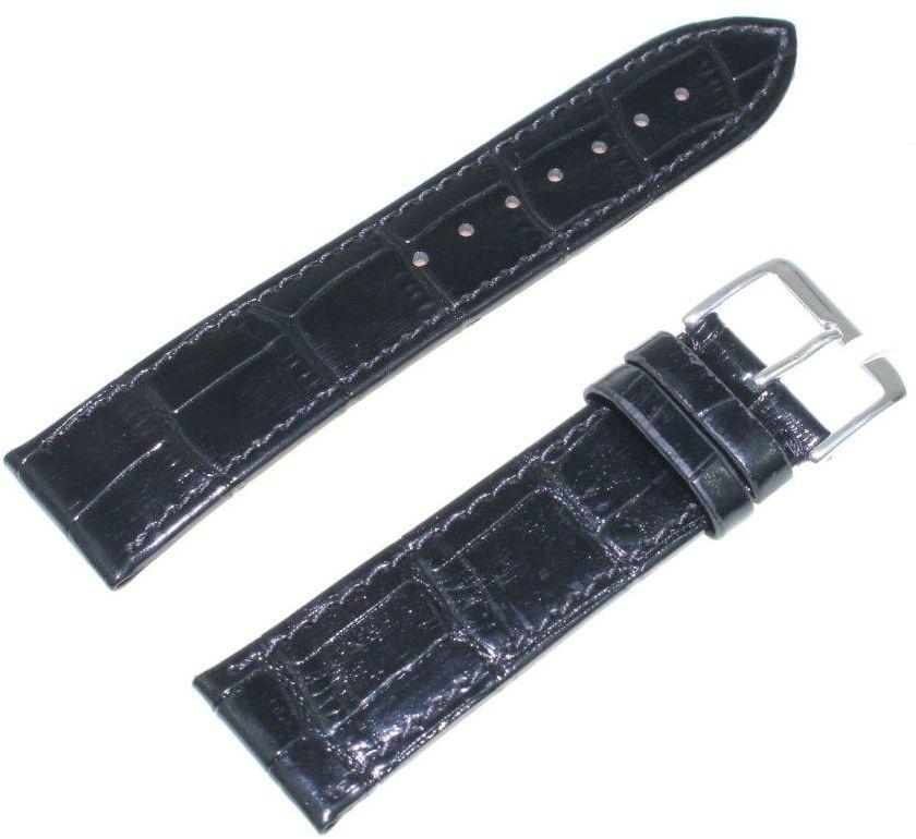 Skórzany pasek do zegarka 22 mm JVD R20701-22