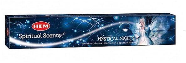 Kadzidełka Mystical Nights Pyłkowe HEM 15g