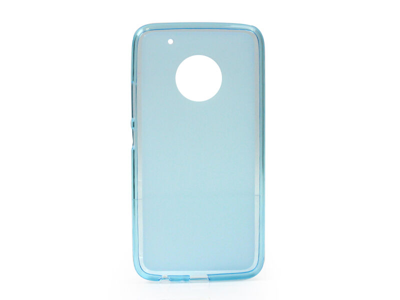 Lenovo Moto G5 Plus - etui na telefon FLEXmat Case - niebieski
