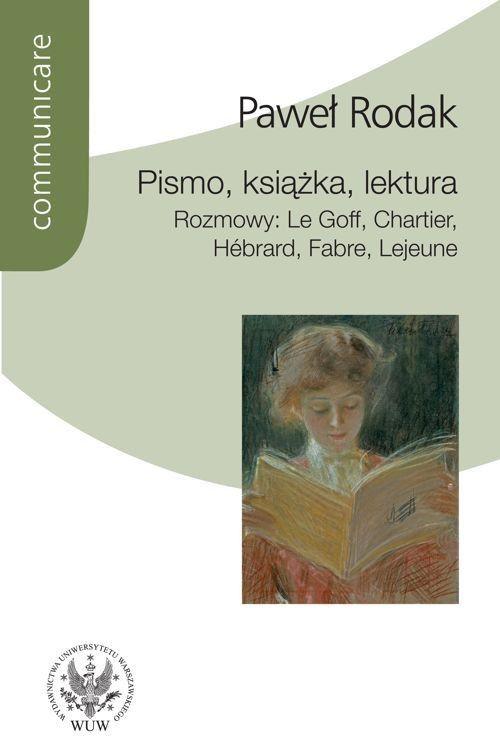 Pismo, książka, lektura - Paweł Rodak - ebook