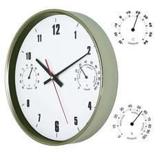 Zegar ścienny ze stali nierdzewnej TH