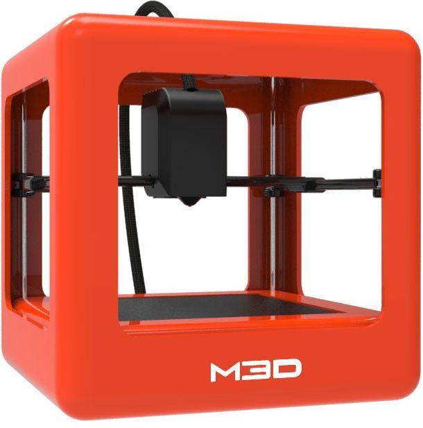 Micro 3D DRUKARKA 3D FDM M3D MICRO ORANGE