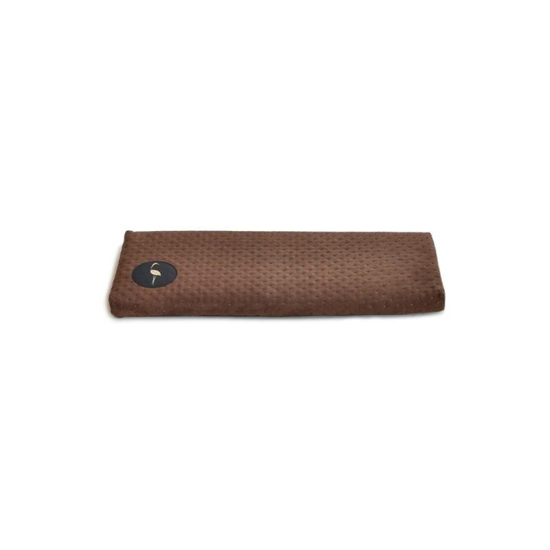 Parapeciak Cleo  brązowy pikowany 50x20cm