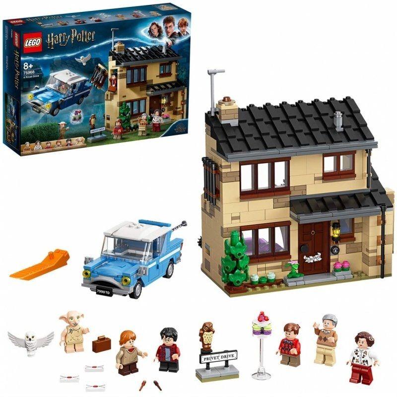Klocki Lego 75968 Harry Potter Privet Drive 4