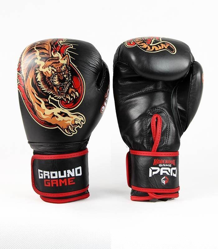 Ground Game rękawice bokserskie PRO Red Tiger