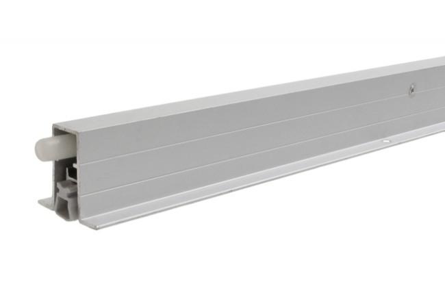 Listwa progowa 725x15x44 mm opadająca z podporą aluminiowa