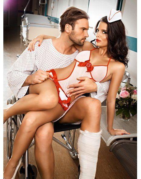 Przebranie pielęgniarki - Baci Candy Nurse Set One Size