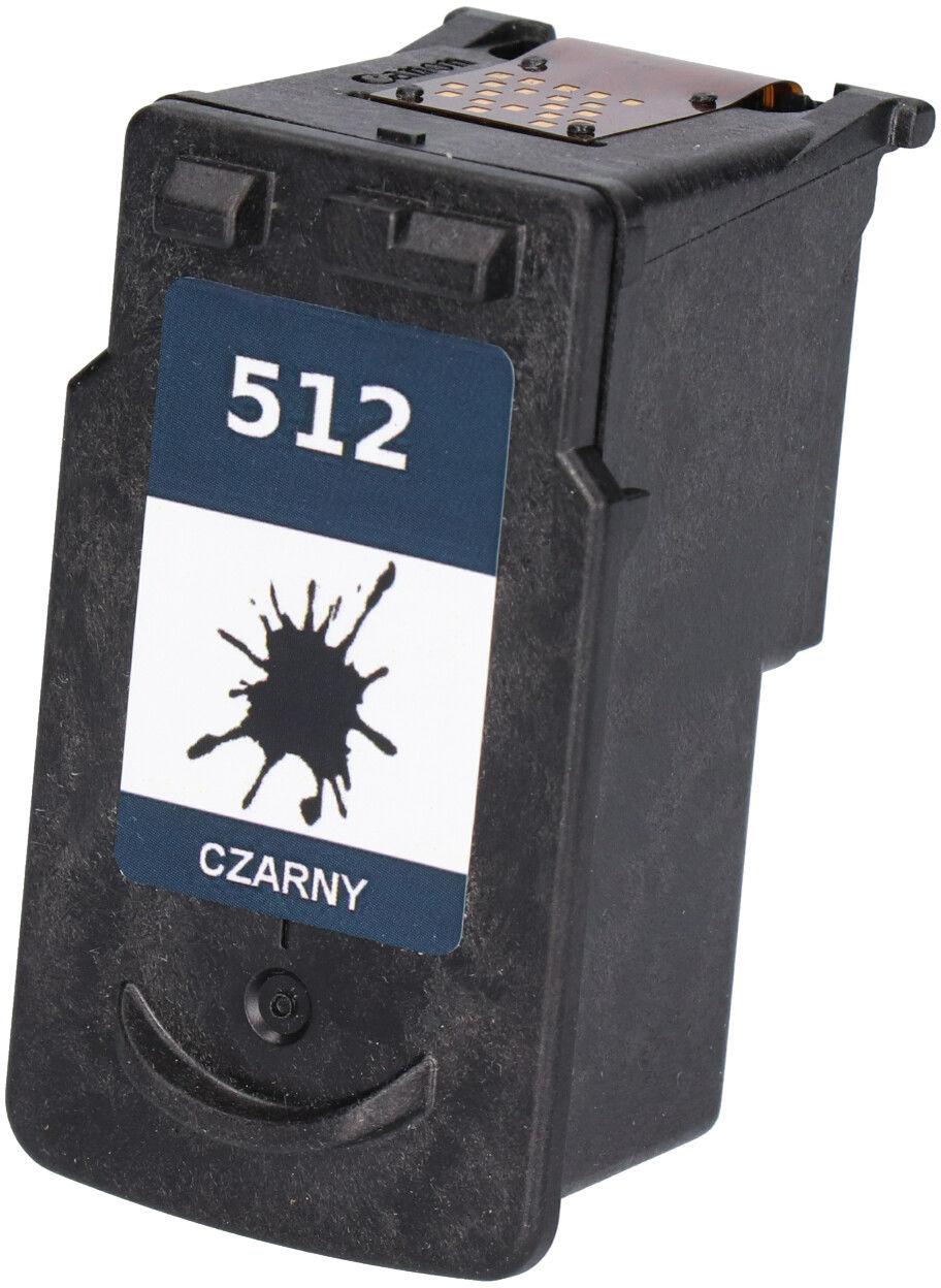 Zgodny tusz do Canon PG-512 (PG512) czarny