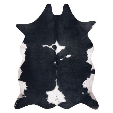 Dywan Sztuczna Skóra Bydlęca, Krowa G5070-3 Czarno-biała skórka 100x150 cm
