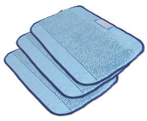 Niebieskie ściereczki z mikrofibry do mopowania iRobot Braava 3 sztuki