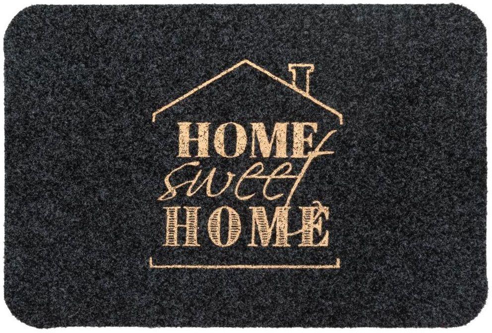 Wycieraczka wewnętrzna Sweet Home 60 x 40 cm antykurzowa