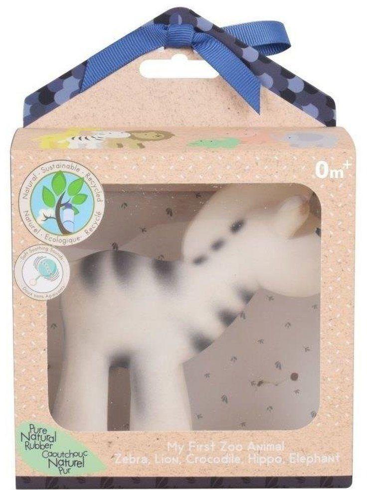 Gryzak Zabawka Zebra zoo w Opakowaniu