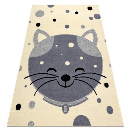 Dywan BCF FLASH Kitten 3998 - Kotek krem / szary 120x160 cm