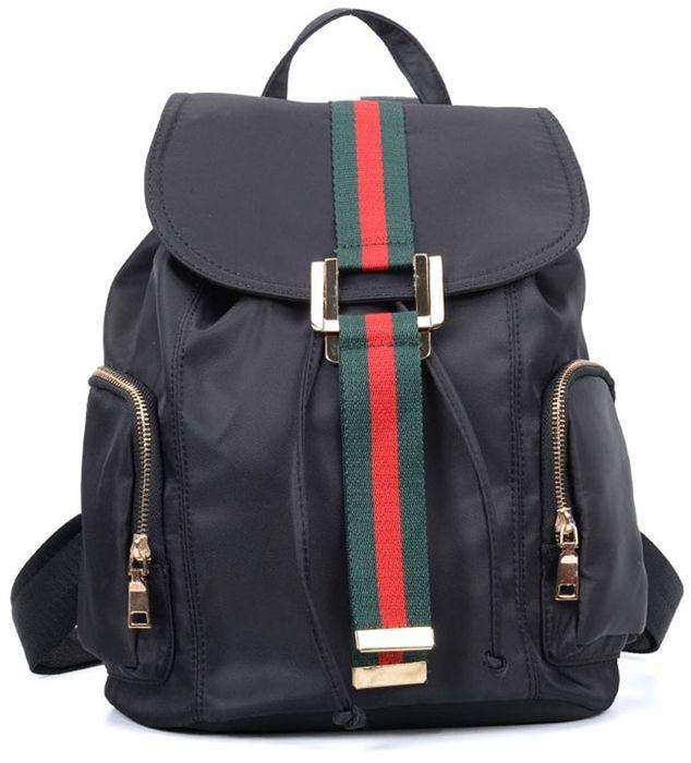 Elegancki plecak damski czarny ROMA