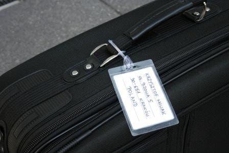 Zawieszki do bagażu - samolaminujące - 10kpl
