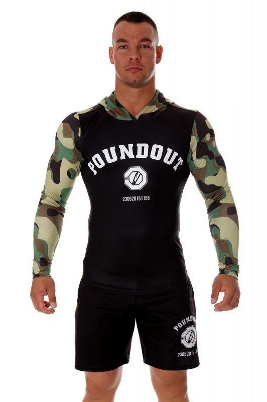 Poundout bluza taliowana z kapturem UNIT DRY EXPERT