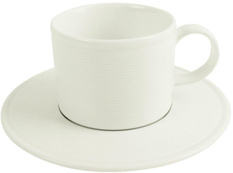Filiżanka sztaplowana porcelanowa poj. 80 ml Line