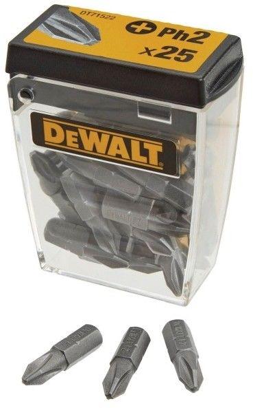 Zestaw bitów DeWalt PH2 25 szt.