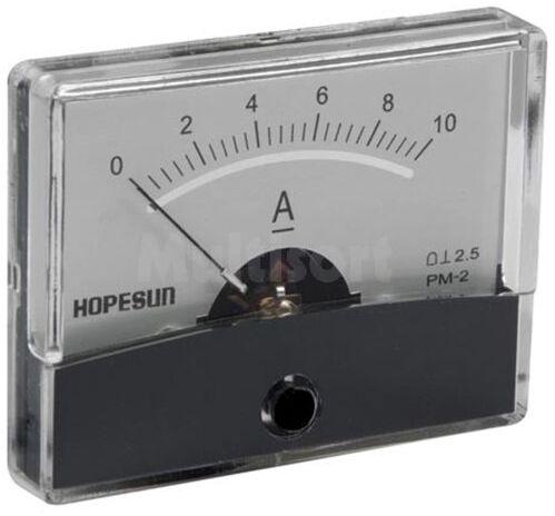 Analogowy amperomierz panelowy 10A DC 60x47mm