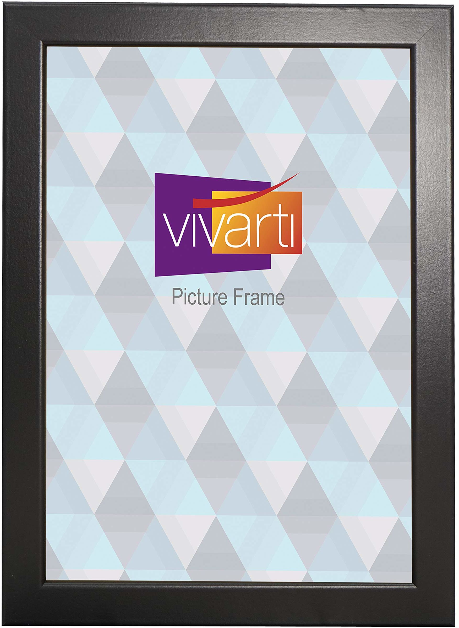 Matowe czarne pudełko ramka na zdjęcia, rozmiar certyfikatu A4, 21 x 29,7 cm