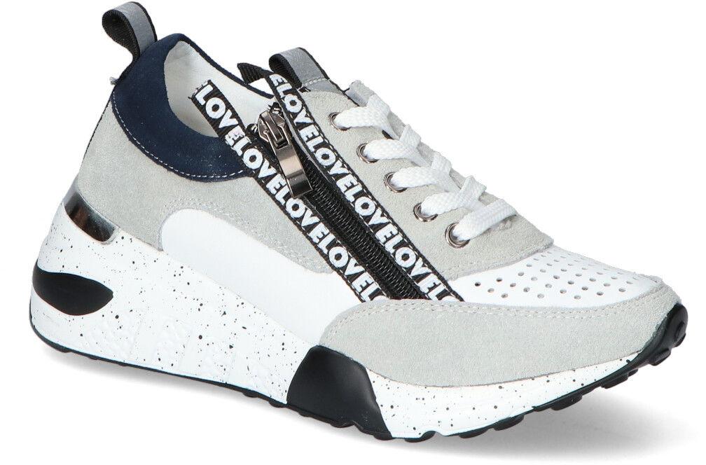 Biało-Szare Sneakersy T.Sokolski T.Sokolski OCW21-92 White/Grey