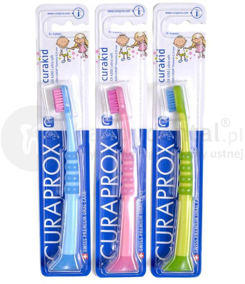 CURAPROX 4260 - szczoteczka do zębów dla dziecka do 4 lat