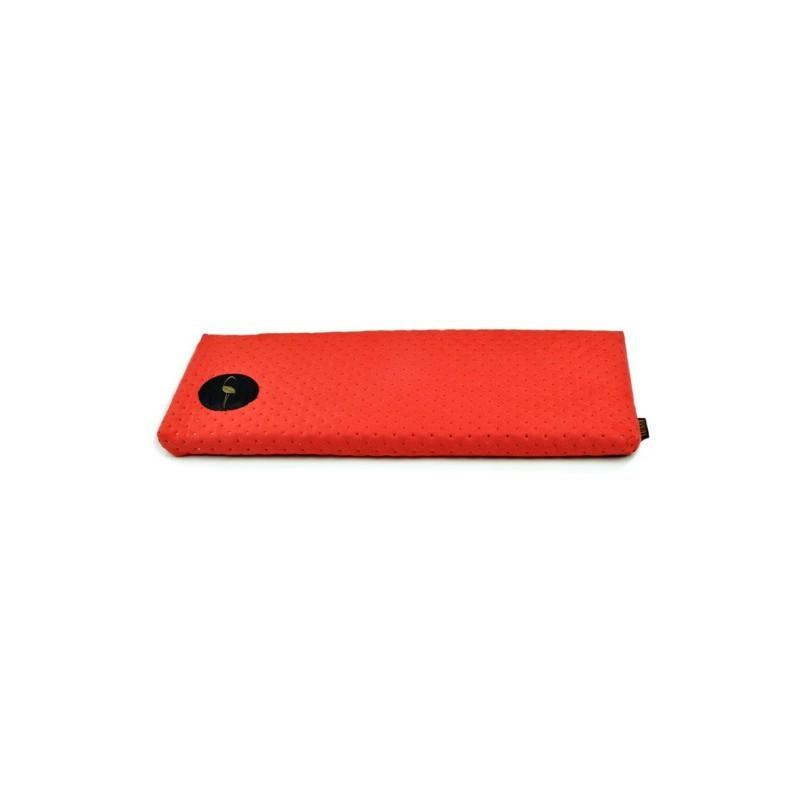 Parapeciak Cleo  czerwony pikowany 50x20cm