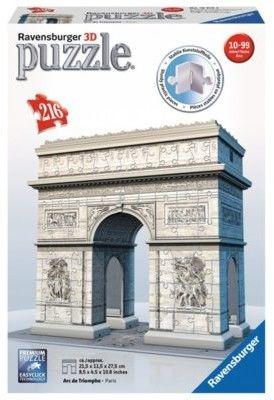 Ravensburger - Puzzle 3D Łuk Triumfalny 125142