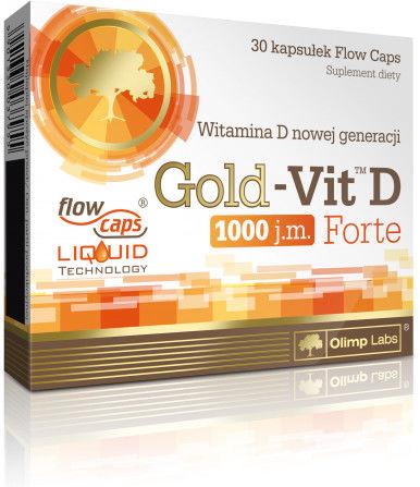 OLIMP GOLD-VIT C 1000 FORE WITAMINA C ODPORNOŚĆ