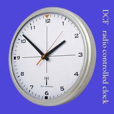 Zegar chromowany sterowany radiowo #1