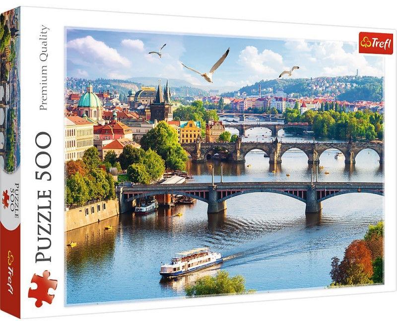 Puzzle 500 elementów Praga Czechy