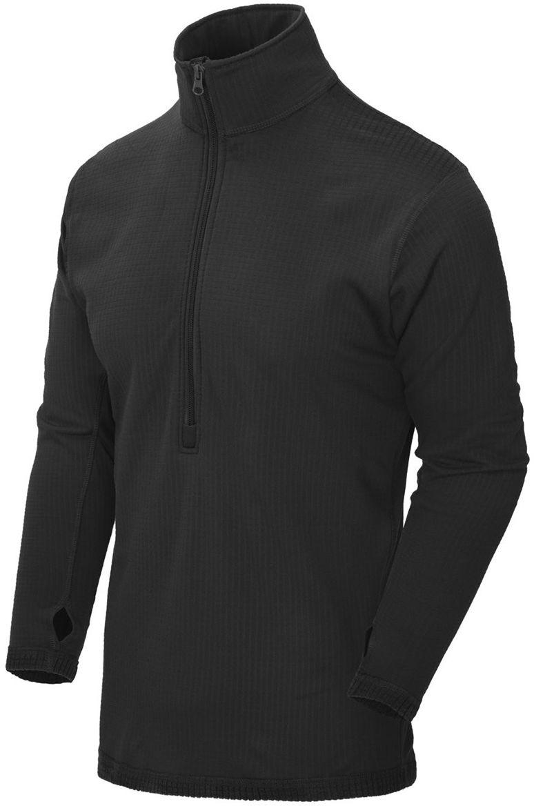 Koszulka termoaktywna Helikon US LVL 2 Black (D/R) (BL-UN2-PO-01) H