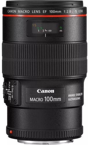 """Obiektyw Canon EF 100mm F2.8 L IS USM - 10% RABATU Z KODEM ,,CANON10%"""" lub do 40% rabatu przy zakupie z 2 innymi obiektywami"""