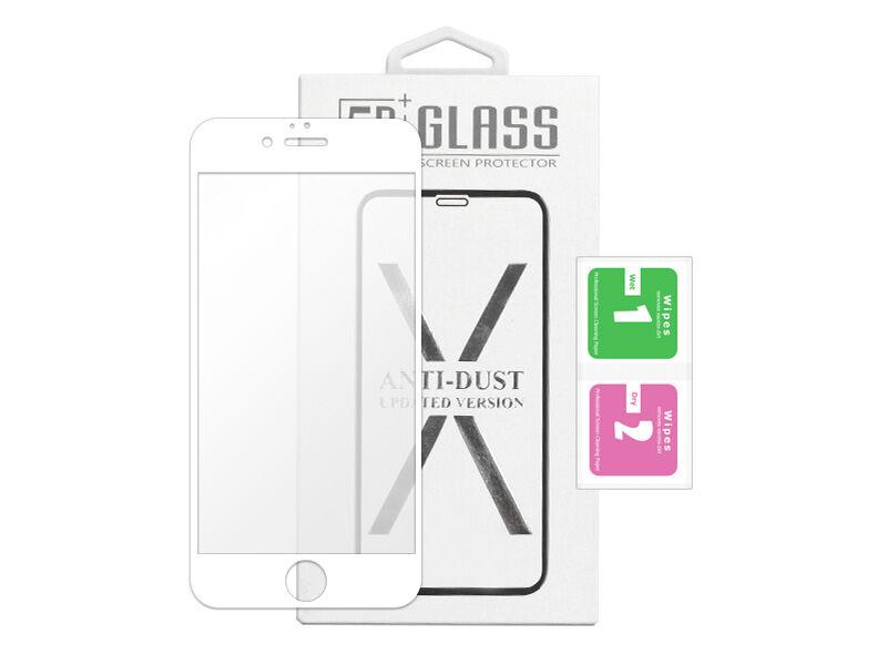 Apple iPhone 6s - szkło hartowane 5D Full Glue - białe
