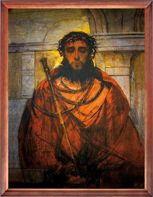 Obraz religijny Chrystus w koronie cierniowej