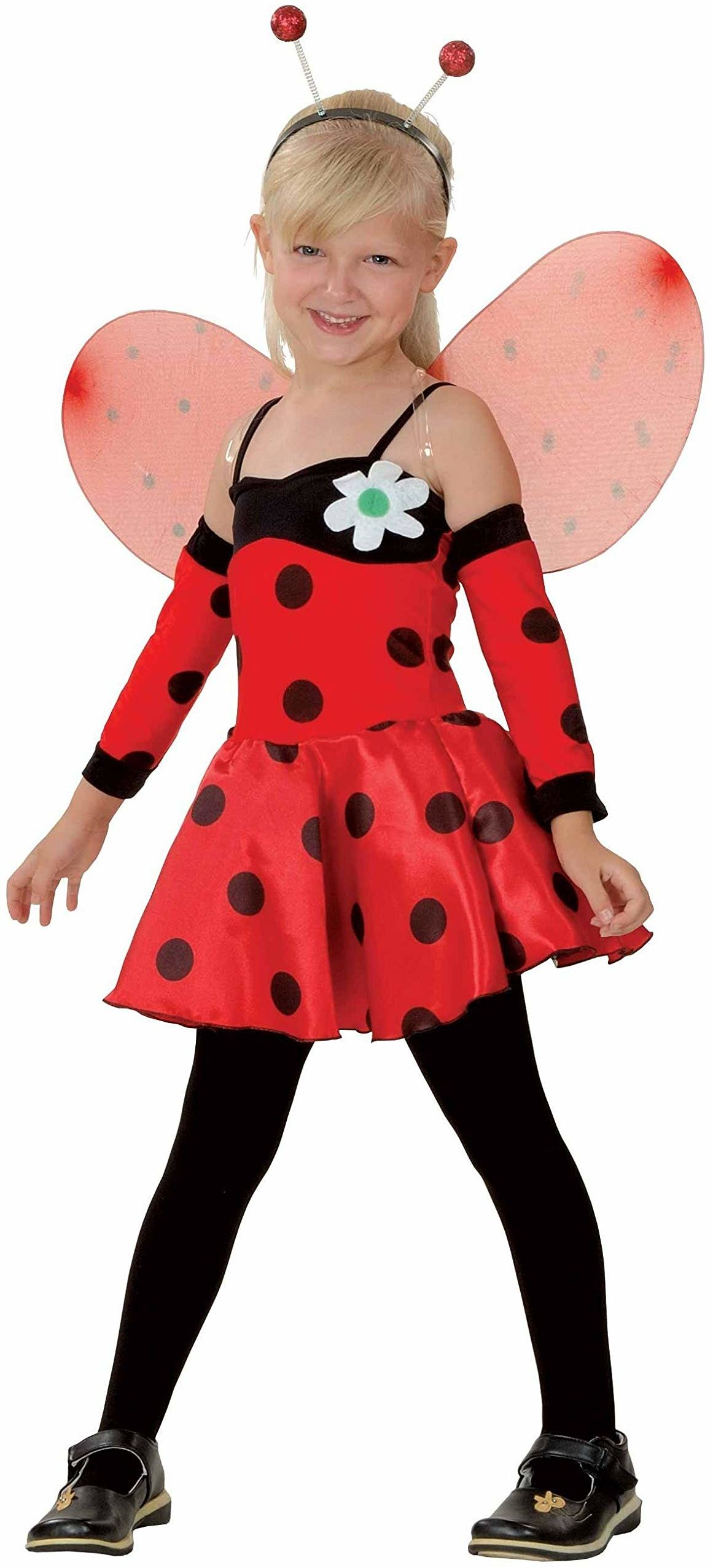 P''tit Clown 88116 Premium kostium biedronki dla dzieci  czerwony