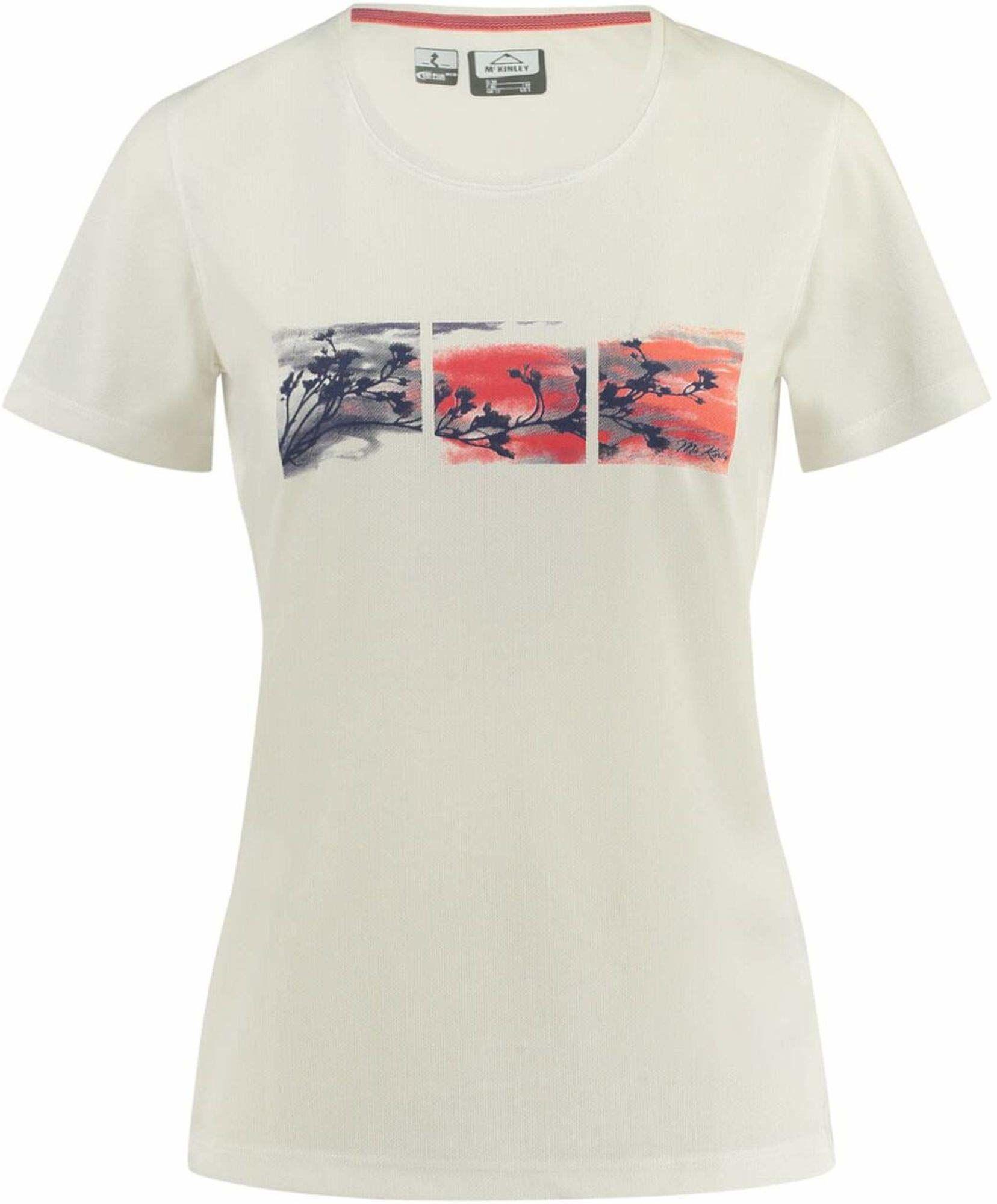 McKINLEY Damski T-shirt Jaffa, biały, 44