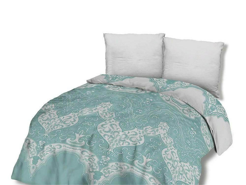 Pościel bawełniana 160x200 71456/1 ornament morska biała Glamour orientalna Cottonlove 2