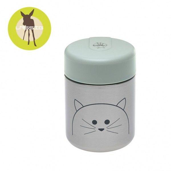 Lassig - Pojemnik Termos na Posiłki Little Chums kot
