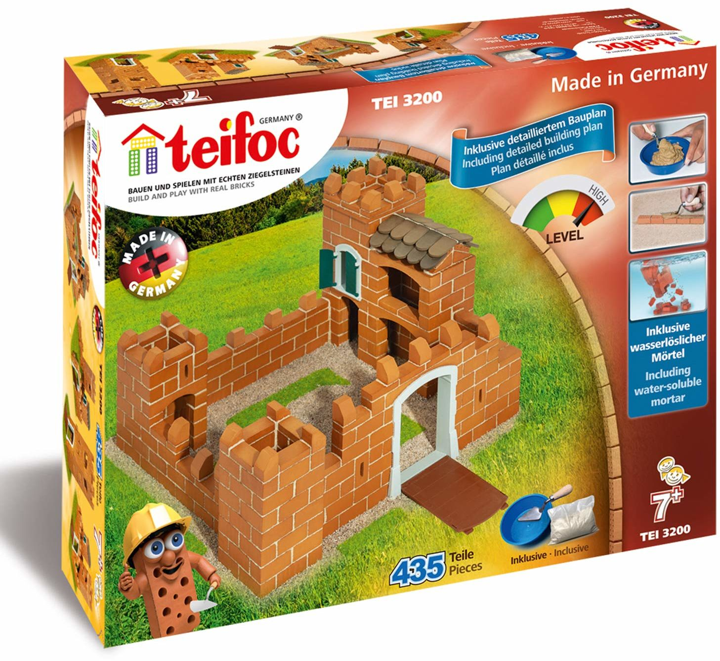 Teifoc T3200 Brick Construction-Zamek rycerski